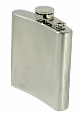 SE HQ6 6-oz. Stainless Steel Hip Flask