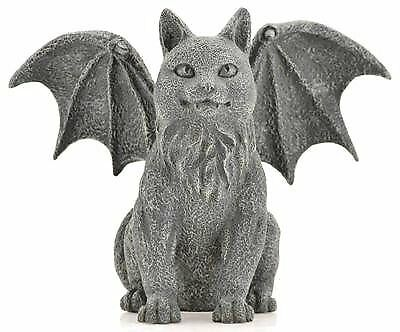 AzureGreen SC321 Winged Cat Gargoyle