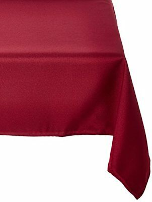 LinenTablecloth 54-Inch Square Polyester Tablecloth Bur