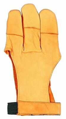 Allen Traditional 3 Finger Leather Archery Glove