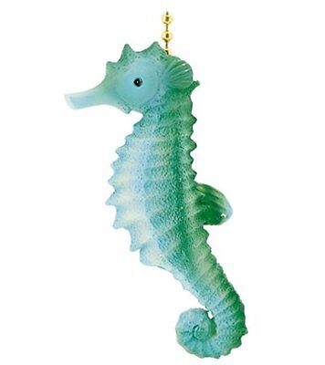 Tiki Tropical Ocean SeaHorse Ceiling Fan Light Pull