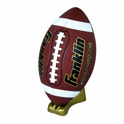 Franklin Sports Grip-Rite Gold Pump and Tee Football Se