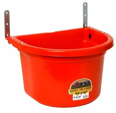 Little Giant Fence Feeder with Mounting Brackets, 20-Qu