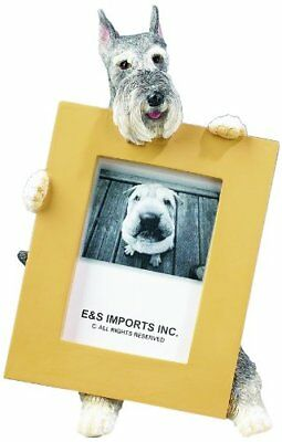 Schnauzer Picture Frame Holds Your Favorite 2.5 by 3.5