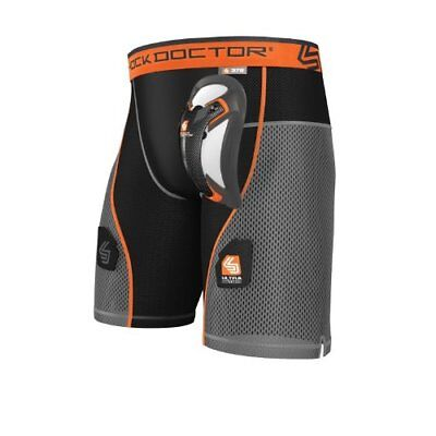 Shock Doctor Men's Ultra Hybrid Hockey Shorts with Ultr