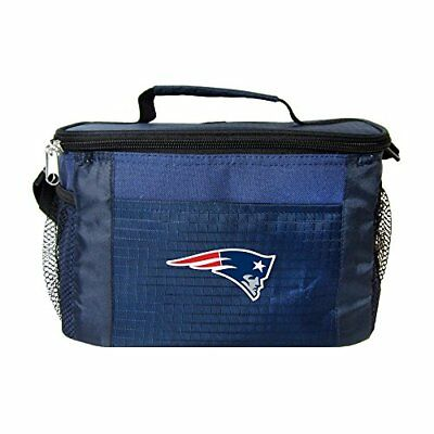 NFL New England Patriots Team Logo 6 Can Cooler Bag or