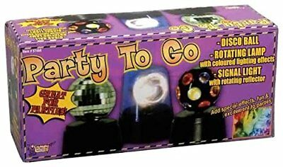 Forum Novelties Party to Go Disco Ball Rotating Lamp Si