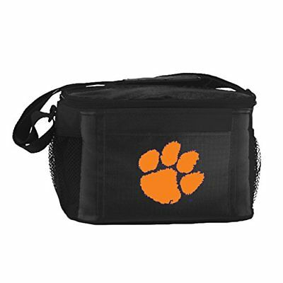 NCAA Clemson Tigers Team Logo 6 Can Cooler Bag or Lunch