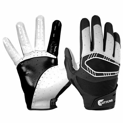 Cutters Gloves REV Pro 3D Receiver Glove (Pair), Black,