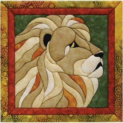 Quilt Magic 12-Inch by 12-Inch Lion Kit