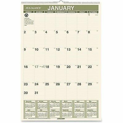 AT-A-GLANCE Products - AT-A-GLANCE - Recycled Monthly W