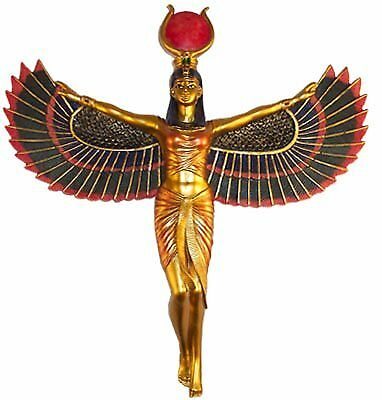 Winged Isis Egyptian Goddess Wall Hanging Deity