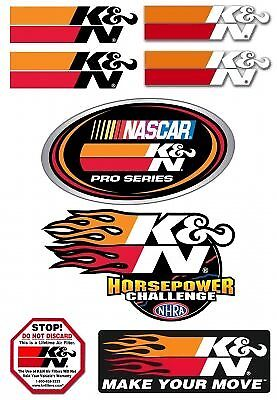 K and N 89-0200 Decal44; Promotional Pack 9. 5 in. X 6.