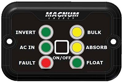 Magnum Energy MM-RC25 Six LED Remote with 25' Communica