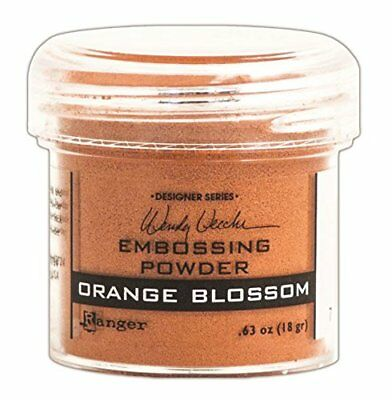 Ranger Wendy Vecchi Embossing Powders, Orange Blossom,