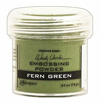 Ranger Wendy Vecchi Embossing Powders, Fern Green, 1-Ou