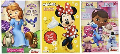Disney Coloring and Activity Book Assortment; Minnie