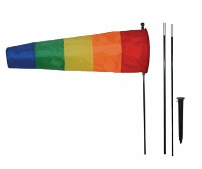 In the Breeze Rainbow Directional Windsock