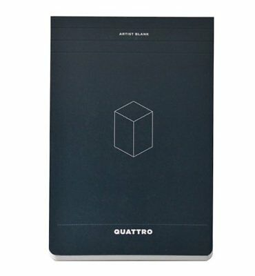 Hand-book Journal Co. 5-1/2-Inch by 8-1/2-Inch Quattro
