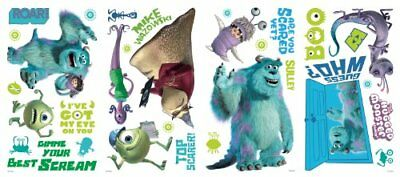 """Disney's """"Monsters Inc."""" Wall Decals 18""""x40"""""""