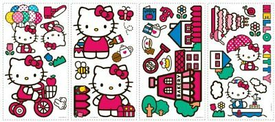 Hello Kitty Wall Decal Coutouts