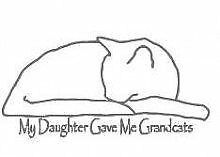 """My Daughter Gave Me Grandcats Picture Art €"""" Kids Bed"""