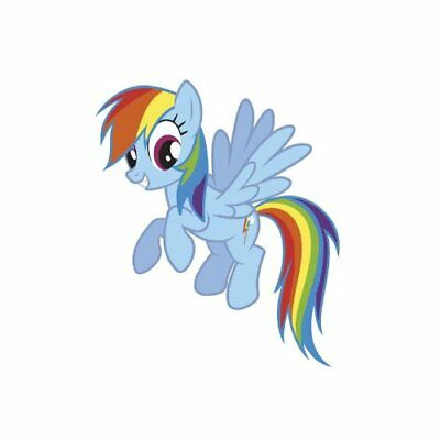 RoomMates Rainbow Dash Peel and Stick Giant Wall Decals