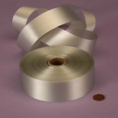 Silver Embossed Poly Satin Ribbon, 4433799