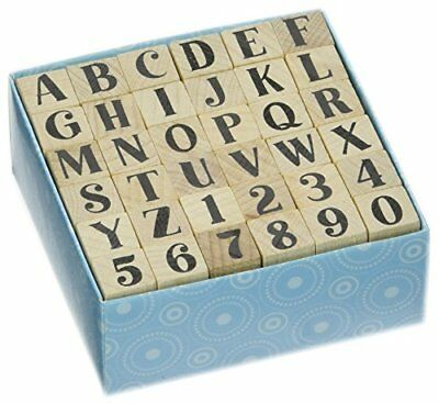 Inkadinkado Bills Alphabet Uppercase Set Mounted Rubber