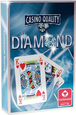 Diamond Playing Cards (Blue) by Cartamundi