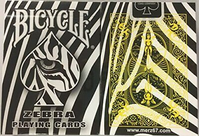 Rare Bicycle Zebra Deck Playing Cards