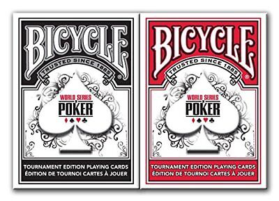 Bicycle World Series of Poker Playing Cards (2-Pack)