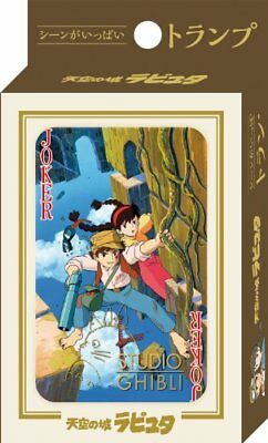 Studio Ghibli Playing Cards -Laputa castle in the sky b