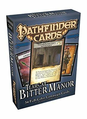 Pathfinder Campaign Cards: Tears at Bitter Manor