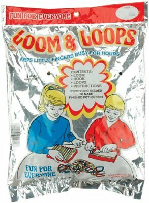 Wool Novelty Loop and Loom Set Giant Silver Rack Pack