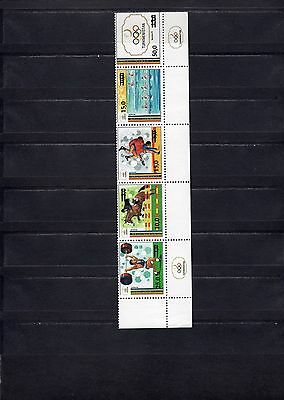 1992 Barcelona Olympics Turkmenistan overprint hitch