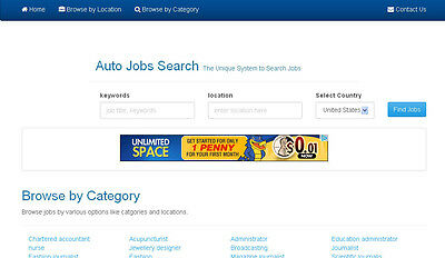 Job Search Engine website