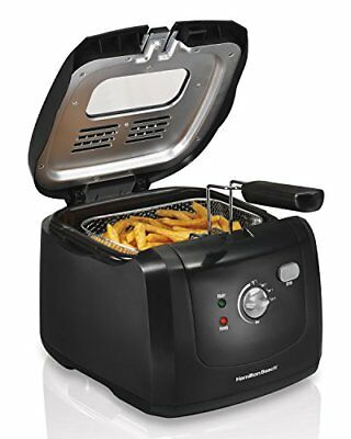 Hamilton Beach Deep Fryer with Cool Touch, 2-Liter Oil