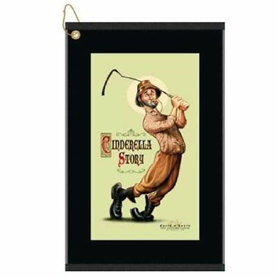 Devant Cinderella Story Caddyshack Tribute Golf Towel
