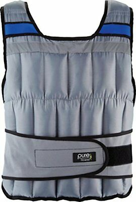 Pure Fitness Adjustable Weighted Exercise/Training Vest