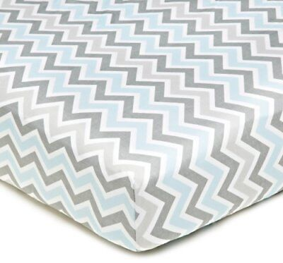 American Baby Company 100% Cotton Percale Fitted Crib S