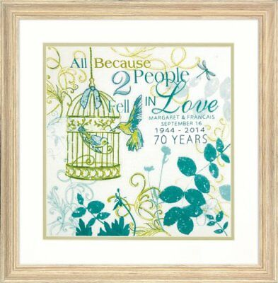 Dimensions Needlecrafts Embroidery Kit, Two People Anni