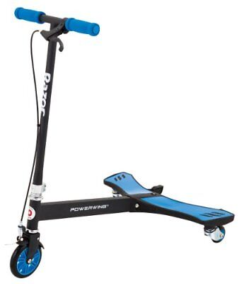 Razor PowerWing Caster Scooter - Blue