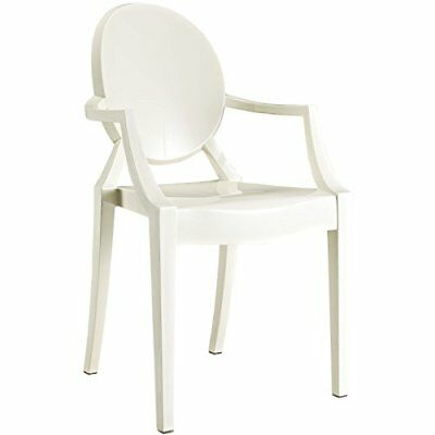 Modway Dining Armchair in White