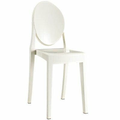 Modway Casper Dining Side Chair in White