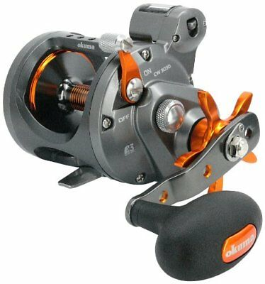 Okuma Cold Water Linecounter Trolling Reel CW-203D