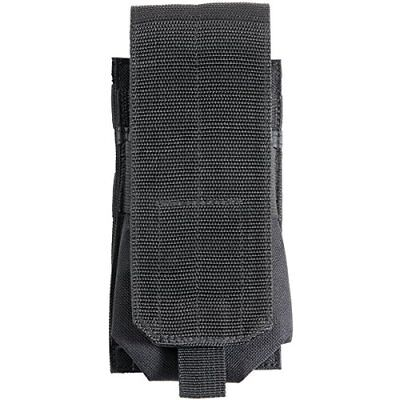 Bulldog Cases Extreme Molle Single Mag Holder, Black