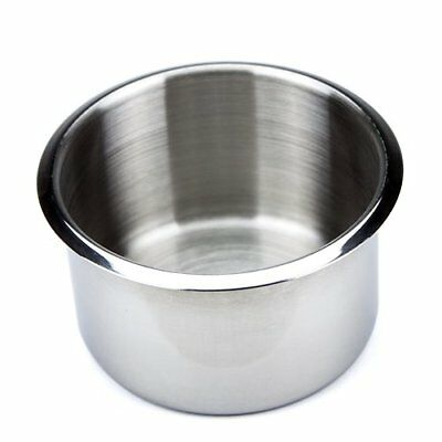 Brybelly Single Jumbo Stainless Steel Drop-In Cup Holde