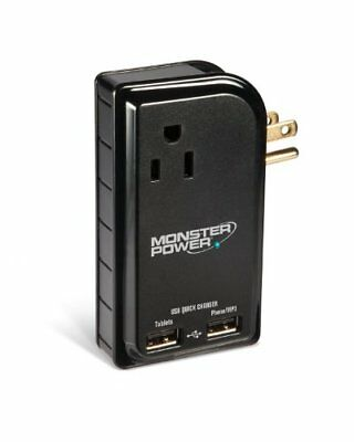Monster Outlets to Go 3 Outlets, 2 USB