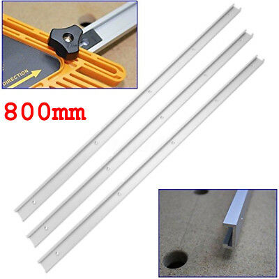 Lot 3Pcs 800mm Alloy T-slot Miter Track Jig Fixture Slot Tool for Router Table